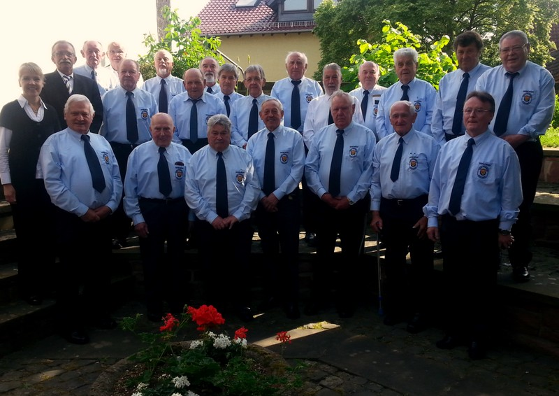 Bildergalerie Kirchenbesuch Feuerwehr Senioren