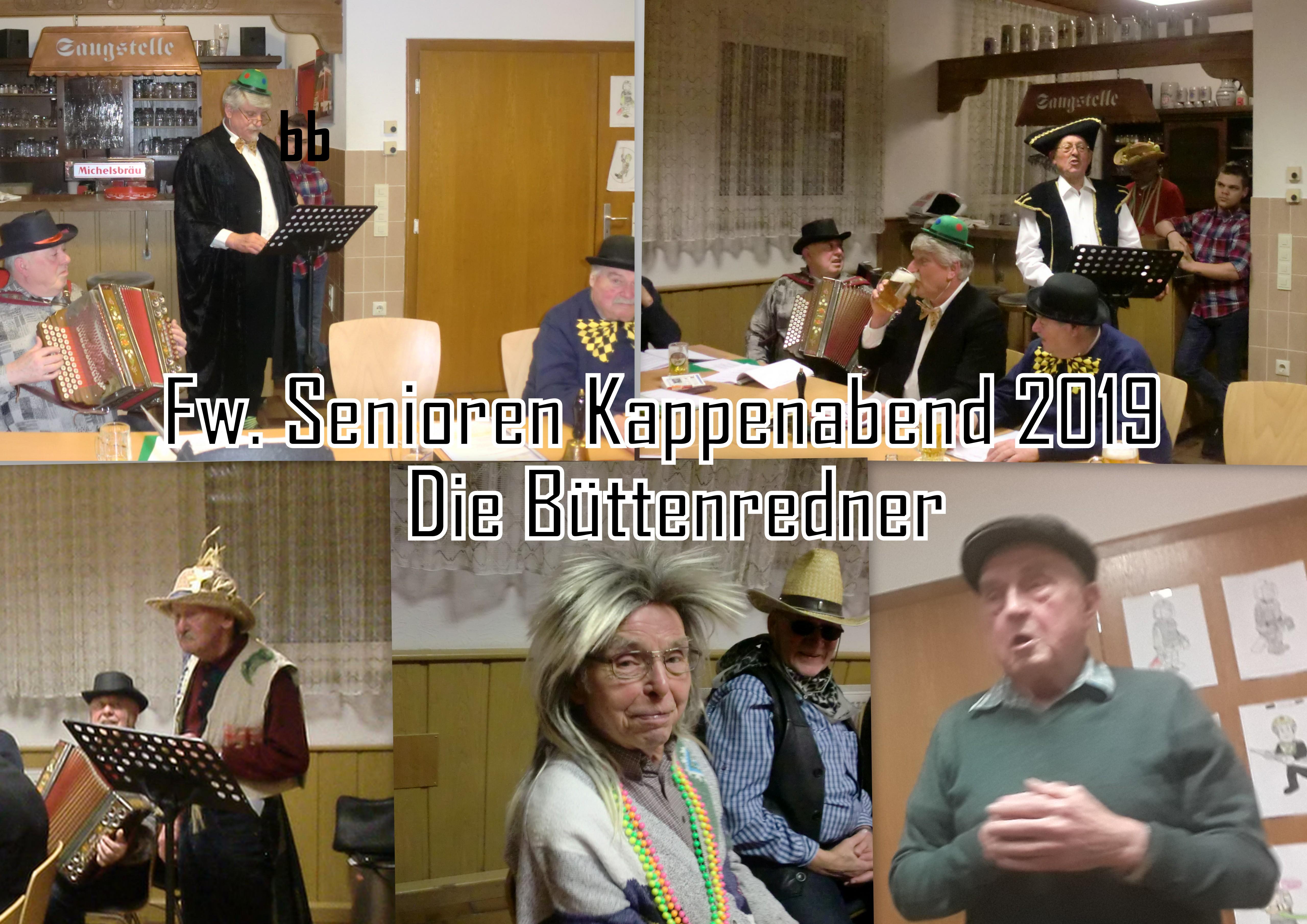 Bildergalerie Kappenabend 2019