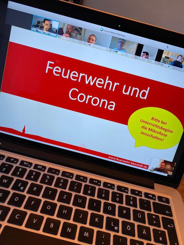 Erster Online Unterricht 2020